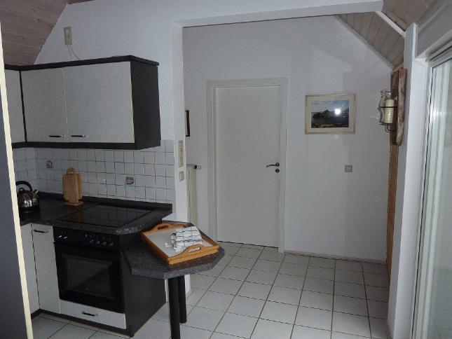 Der Küchen- und Flurbereich